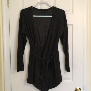 Urban Outfitters grey long sleeve sweater romper